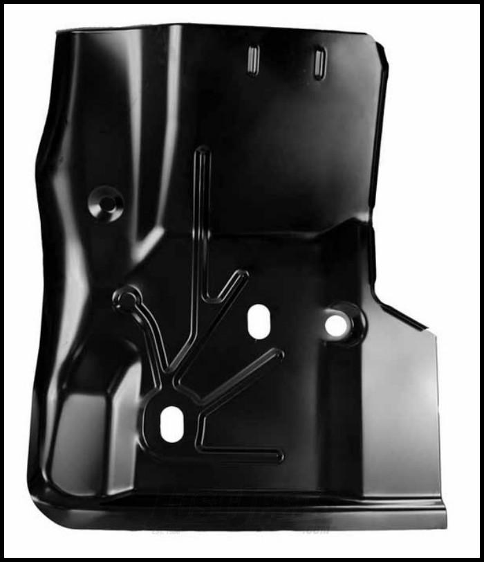 KeyParts Replacement Steel Floor Pan (Front Passenger's-Side Under Feet) For 1997-06 Jeep Wrangler TJ & TLJ Unlimited Models