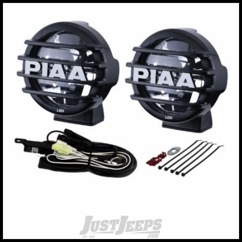 """PIAA LP550 5"""" LED Driving Light Kit For Jeeps 05572"""