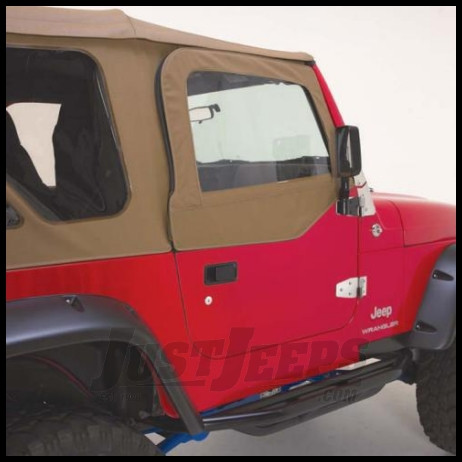 Just Jeeps Rampage Complete Soft Top Kit Spice Denim For