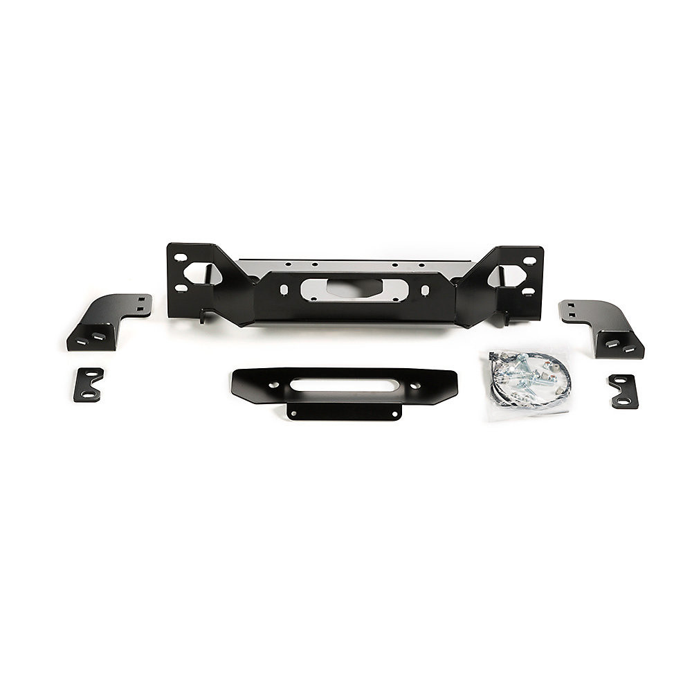Just Jeeps Warn Winch Mount Plate For 2018 Jeep Wrangler Jl 2 Door Rear 2008 Unlimited 4 Models With Factory Steel Bumper