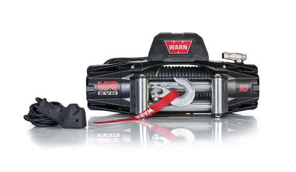 WARN VR EVO 10 Winch with Steel Rope