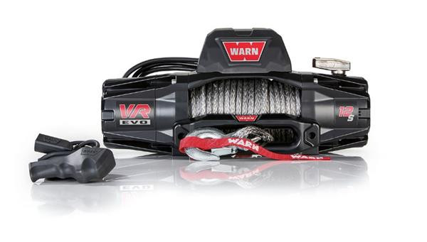 WARN VR EVO 12-S Winch with Synthetic Rope 103255