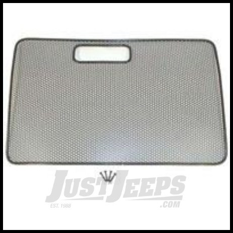 Just Jeeps Rugged Ridge Bug Screen Stainless Steel For