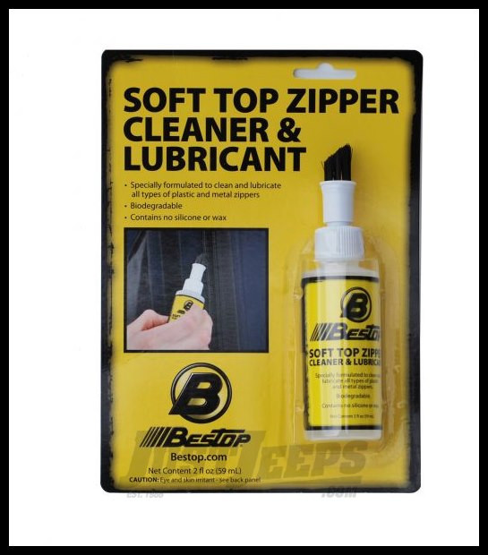 Just Jeeps Buy Bestop Soft Top Zipper Cleaner Amp Lubricant