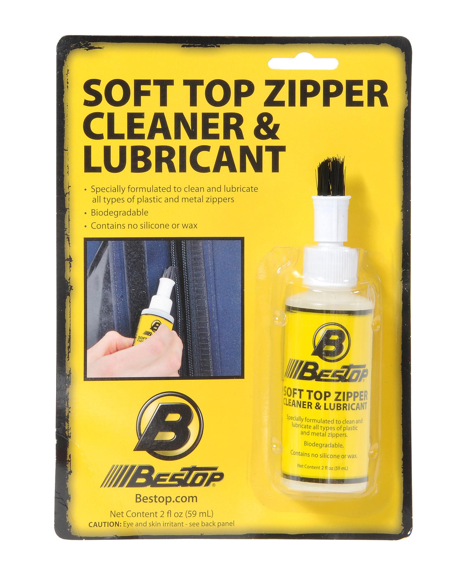 BESTOP Soft Top Zipper Cleaner & Lubricant 11206-00