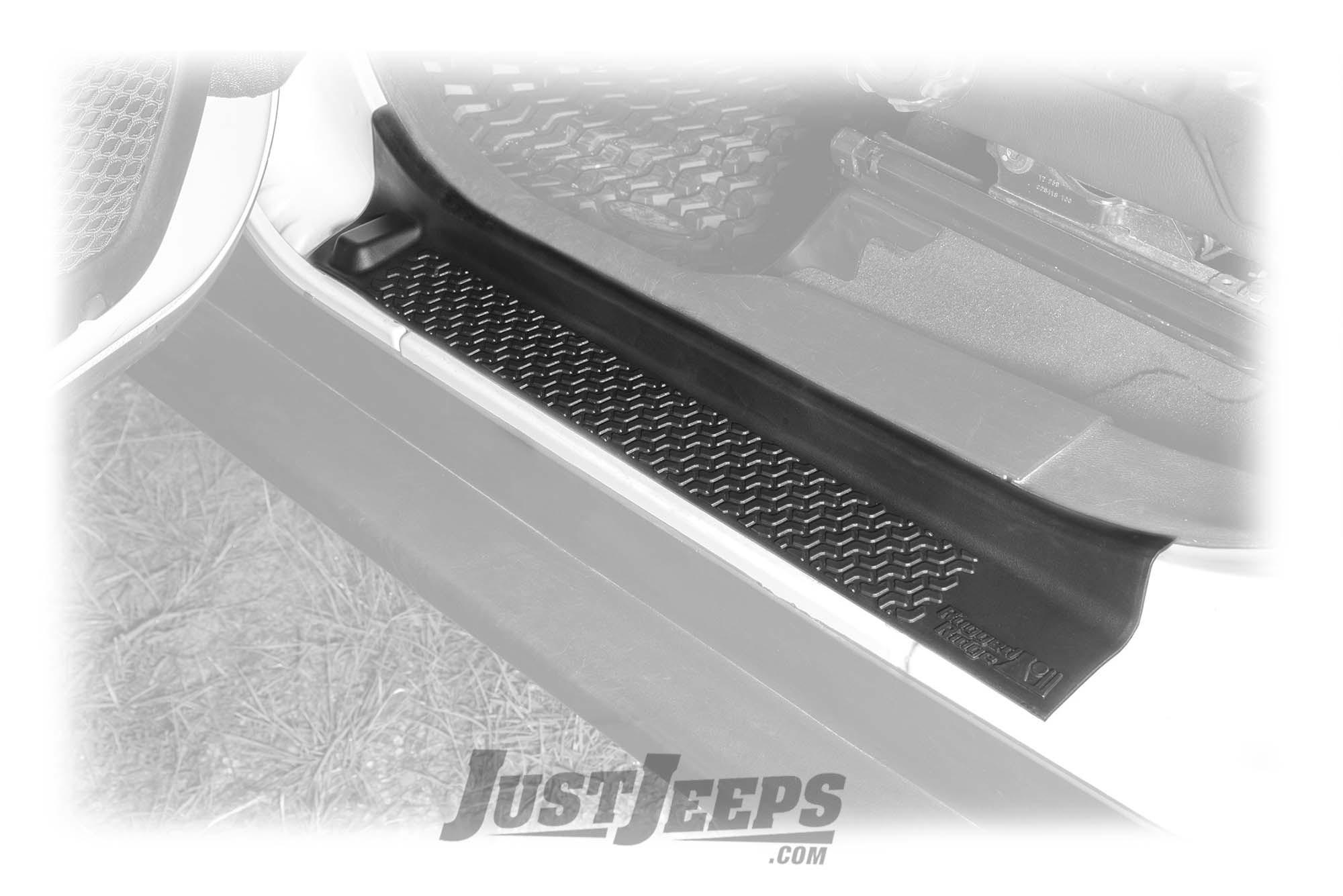 Rugged Ridge Front Entry Guards For 2018+ Jeep Gladiator JT & Wrangler JL 2 Door & Unlimited 4 Door Models