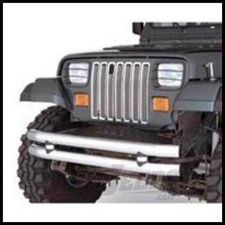 Rugged Ridge Grille Inserts Billet aluminum For 1987-95 Jeep Wrangler YJ 11401.01