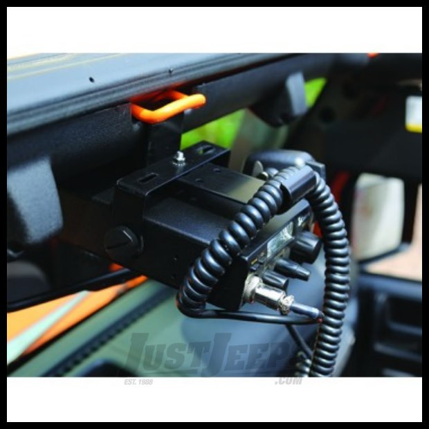 Just Jeeps Buy Rugged Ridge Cb Radio Mount Kit For 07