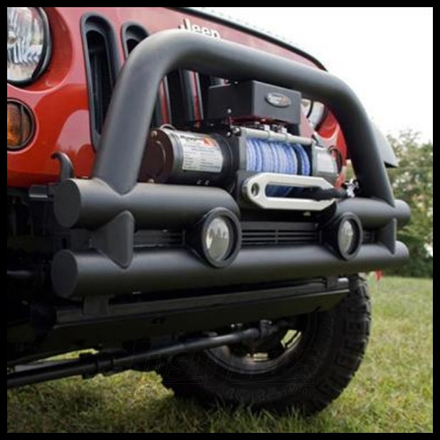 Just Jeeps Buy Rugged Ridge Front Stubby Tube Bumper