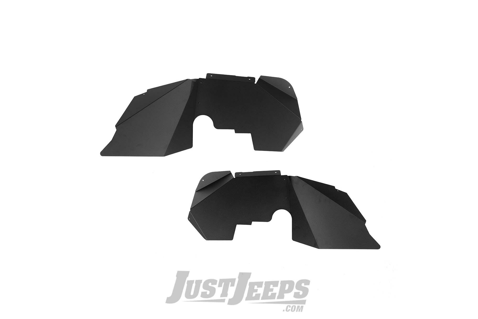 Rugged Ridge Front Inner Fenders For 2007-18 Jeep Wrangler JK 2 Door & Unlimited 4 Door Models