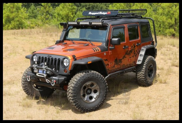 Just Jeeps Buy Rugged Ridge Hurricane Flat Fender Flares