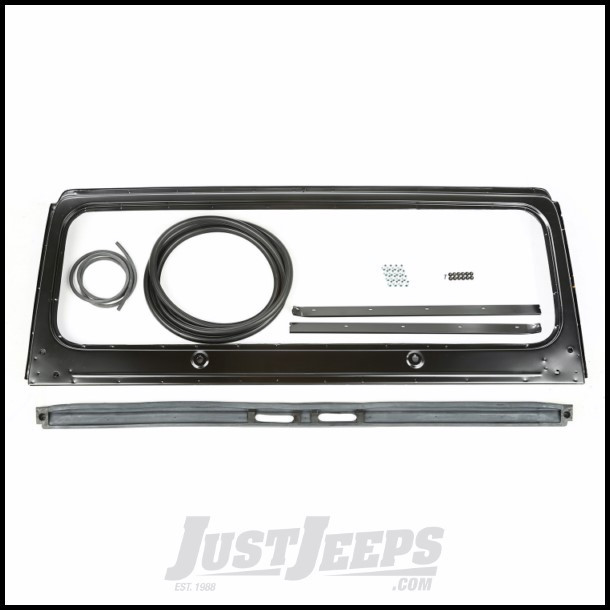 Just Jeeps Buy Omix-ADA Windshield Frame Kit For 1976-86 Jeep CJ ...