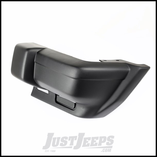 Omix-ADA Stock Driver Side Front Bumper End For 1997-01 Jeep Cherokee XJ 12035.64