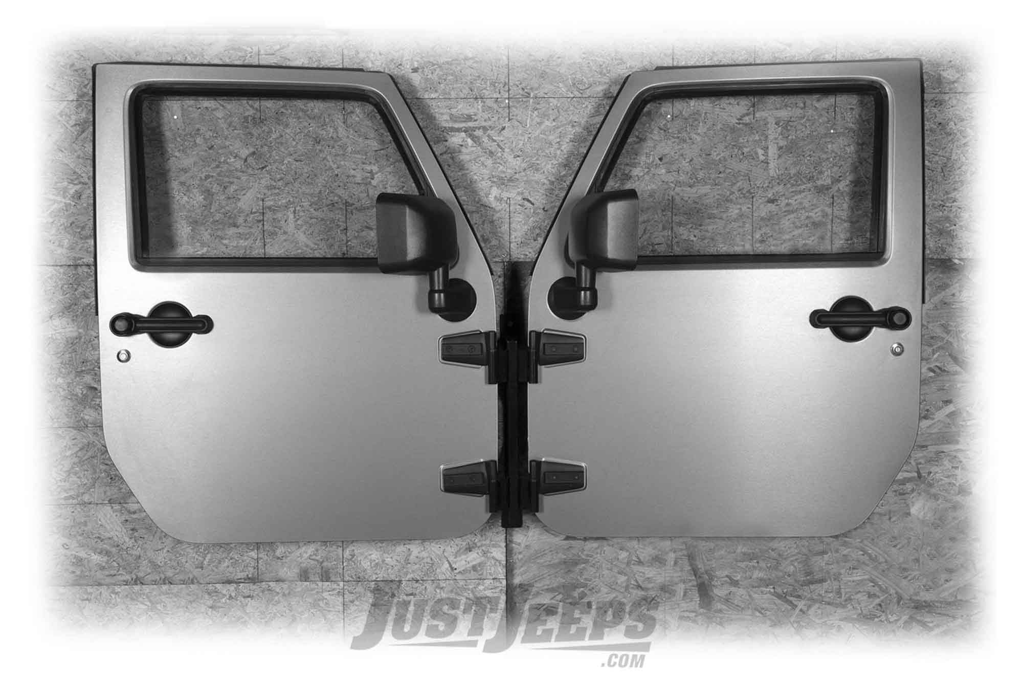 Rugged Ridge Wall Mount Door Holder For 1976+ Various Jeep Models (See Details) 12107.10