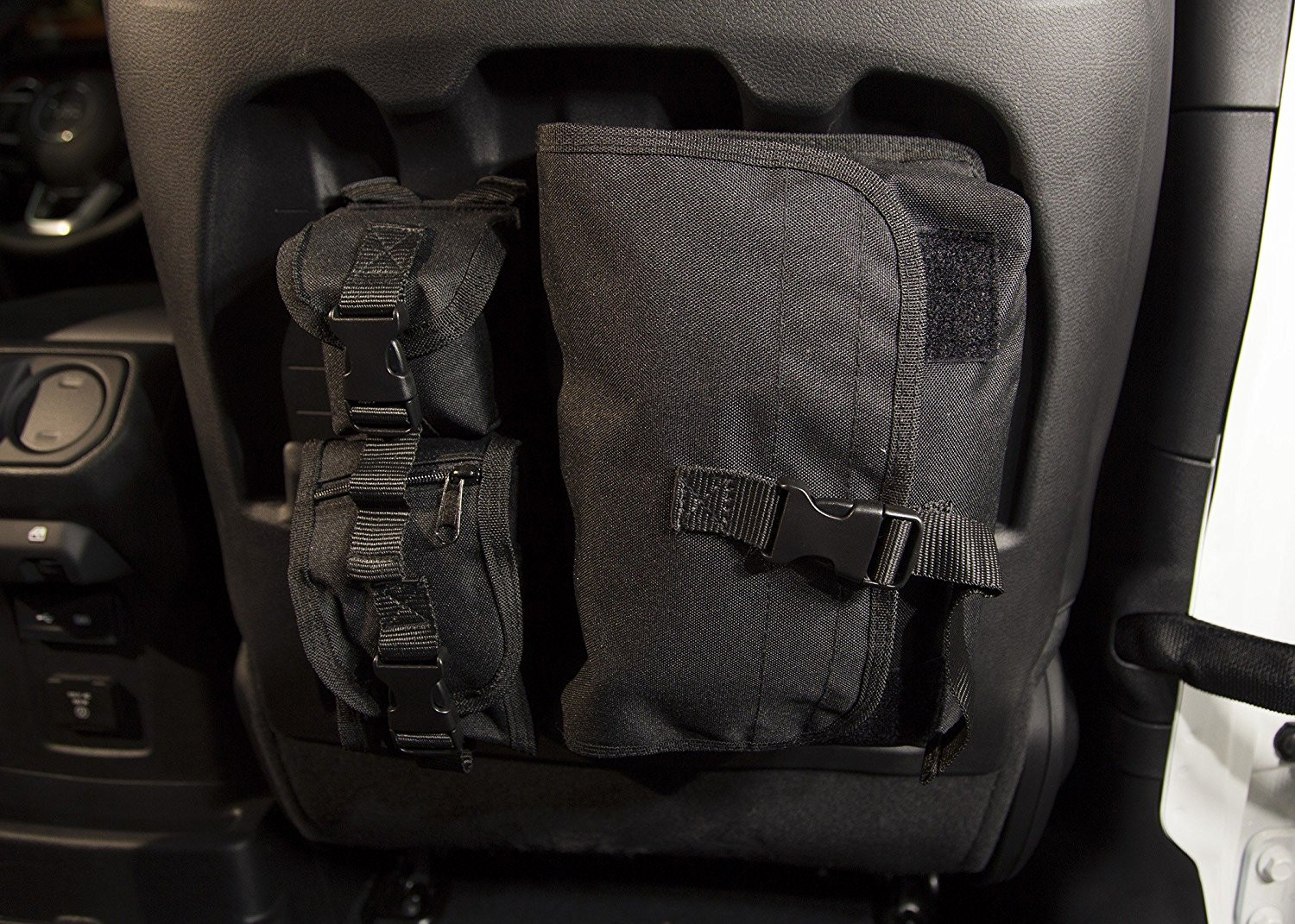 Just Jeeps Rugged Ridge MOLLE Storage Bag System For 2018