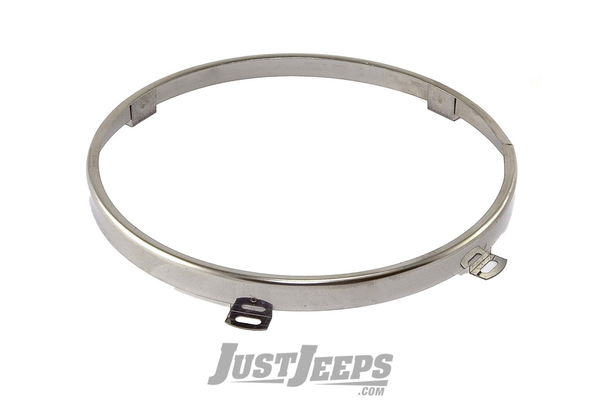 Omix-ADA Headlight Retaining Ring For 1997-06 Jeep Wrangler TJ & TJ Unlimited Models