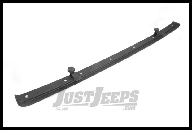 Rugged Ridge Header Windshield Channel For 2007 18 Jeep Wrangler Jk 2 Door Unlimited 4 Models
