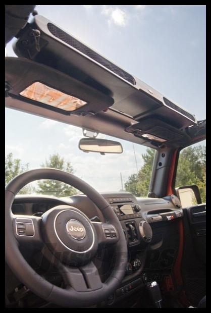 Rugged Ridge Overhead Storage Console For 2007-18 Jeep Wrangler JK 2 Door & Unlimited 4 Door Models