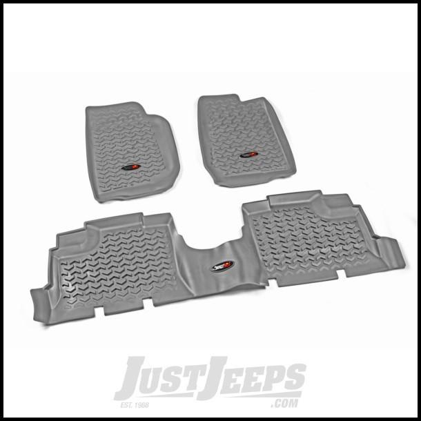 Red Dual Rear Grab Handle for Jeep Wrangler JK 2007-2018 13305.13 Rugged Ridge