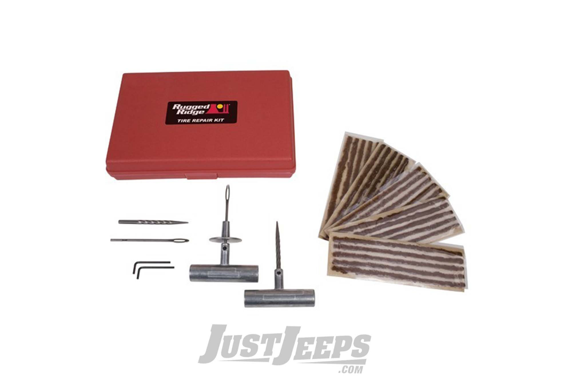 Just Jeeps Rugged Ridge Tire Repair Kit With Essential