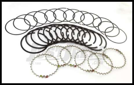 Omix-ADA Piston Ring Set For 1987-93 Jeep Wrangler YJ, Grand Cherokee & Cherokee XJ With 2.5L &4.0L Standard Size