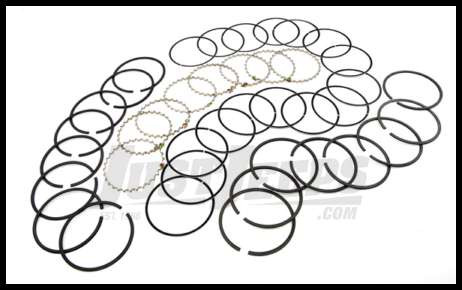 Omix Ada Piston Ring Set For 1971 91 Cj Series And Full Size With 8 Cyl Amc 401 020 Oversized