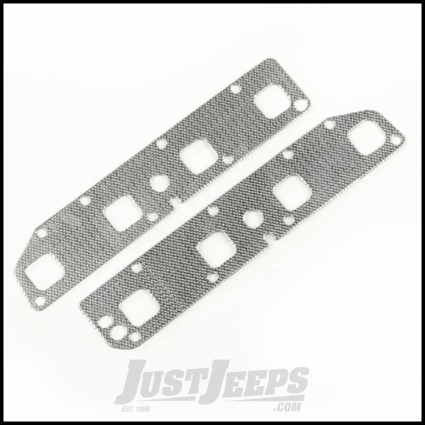 Omix-ADA Exhaust Manifold Gasket Set For 2005-08 Jeep Grand Cherokee &  2006-08 Commander With 5 7Ltr Engines Without VVT