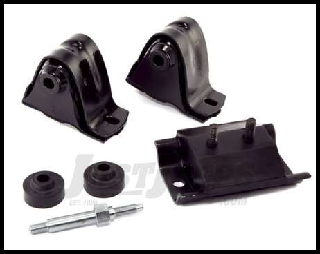 Omix-ADA Engine & Transmission Mount Kit For 1987-95 Jeep Wrangler YJ With  6 CYL