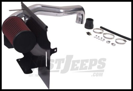 Rugged Ridge Polished Aluminum Air Intake Kit 2.5L 4 cylinder engine 1997-02 TJ Wrangler 17750.02