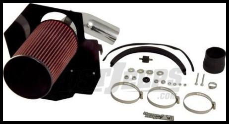 Rugged Ridge Polished Aluminum Air Intake Kit 3.8L V6 Engine 2007-11 JK Wrangler, Rubicon and Unlimited