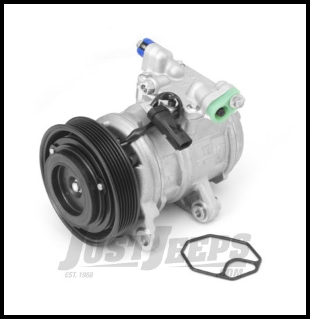 Omix-ADA AC Compressor With Clutch For 2003-06 Jeep Wrangler TJ With 2.4L 17953.04