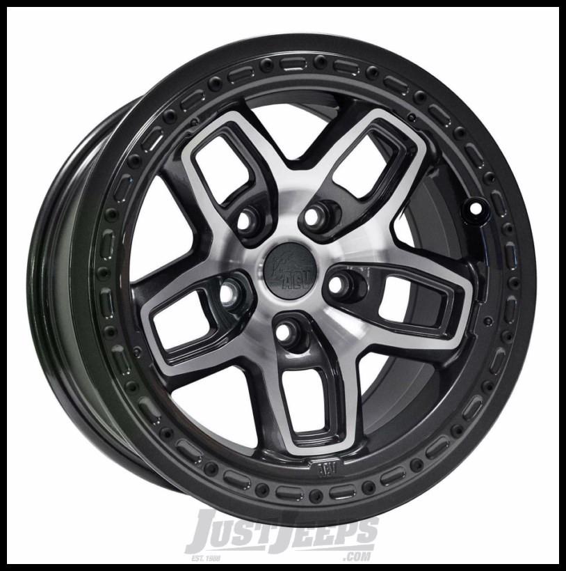 Just Jeeps Buy Aev Borah Wheels 17 X 8 5 Galaxy Black