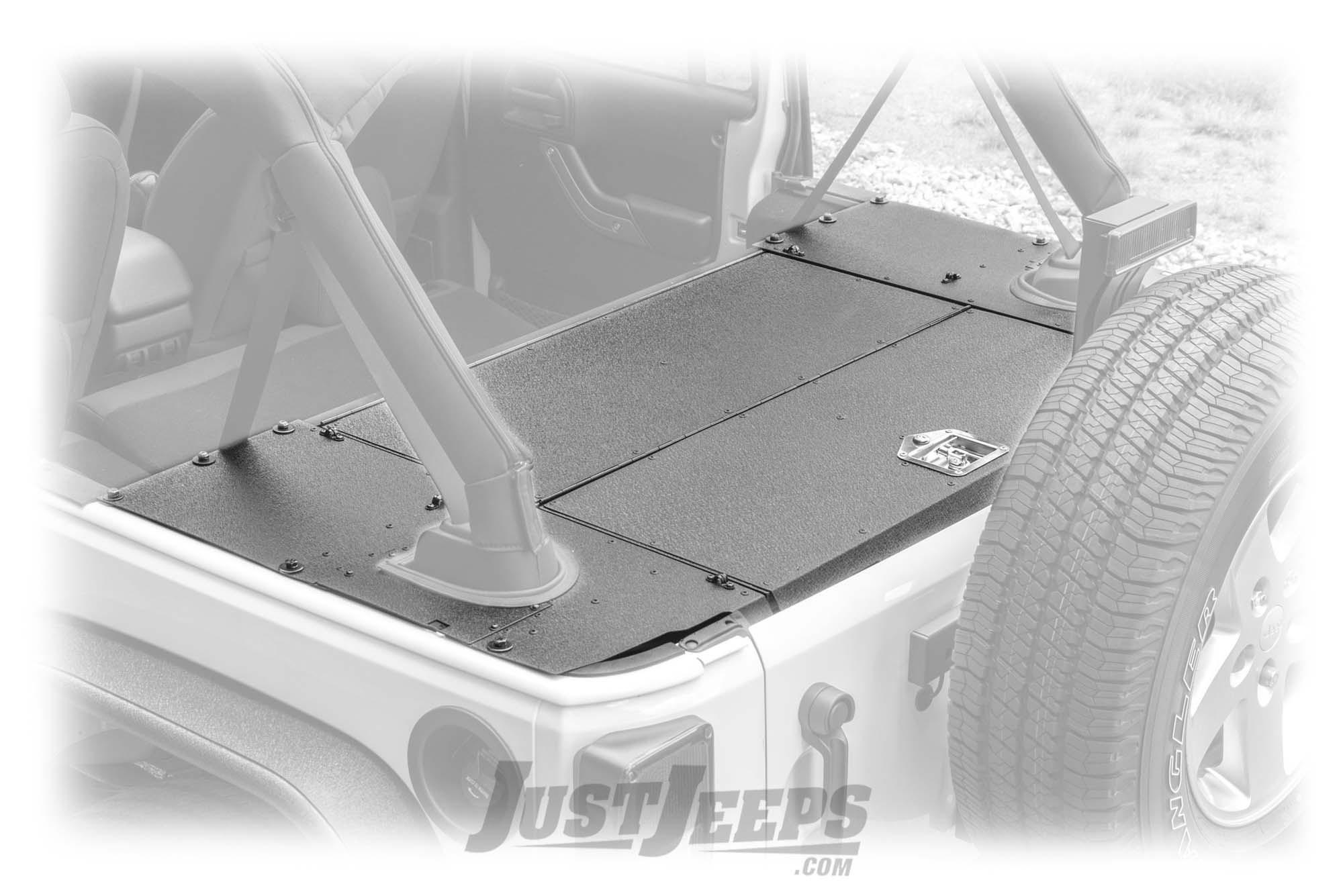 Aries Automotive Security Cargo Lid For 2007-10 Jeep Wrangler JK Unlimited 4 Door Models