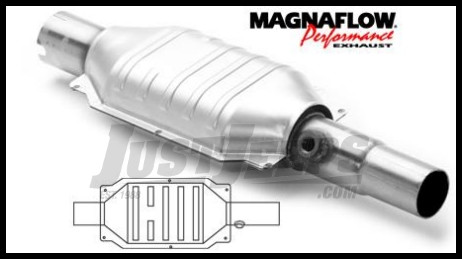 Magnaflow Direct Fit Catalytic Converter For 1993 99 Jeep Cherokee 4.0L U0026 Grand  Cherokee 5.2 Or 5.9L