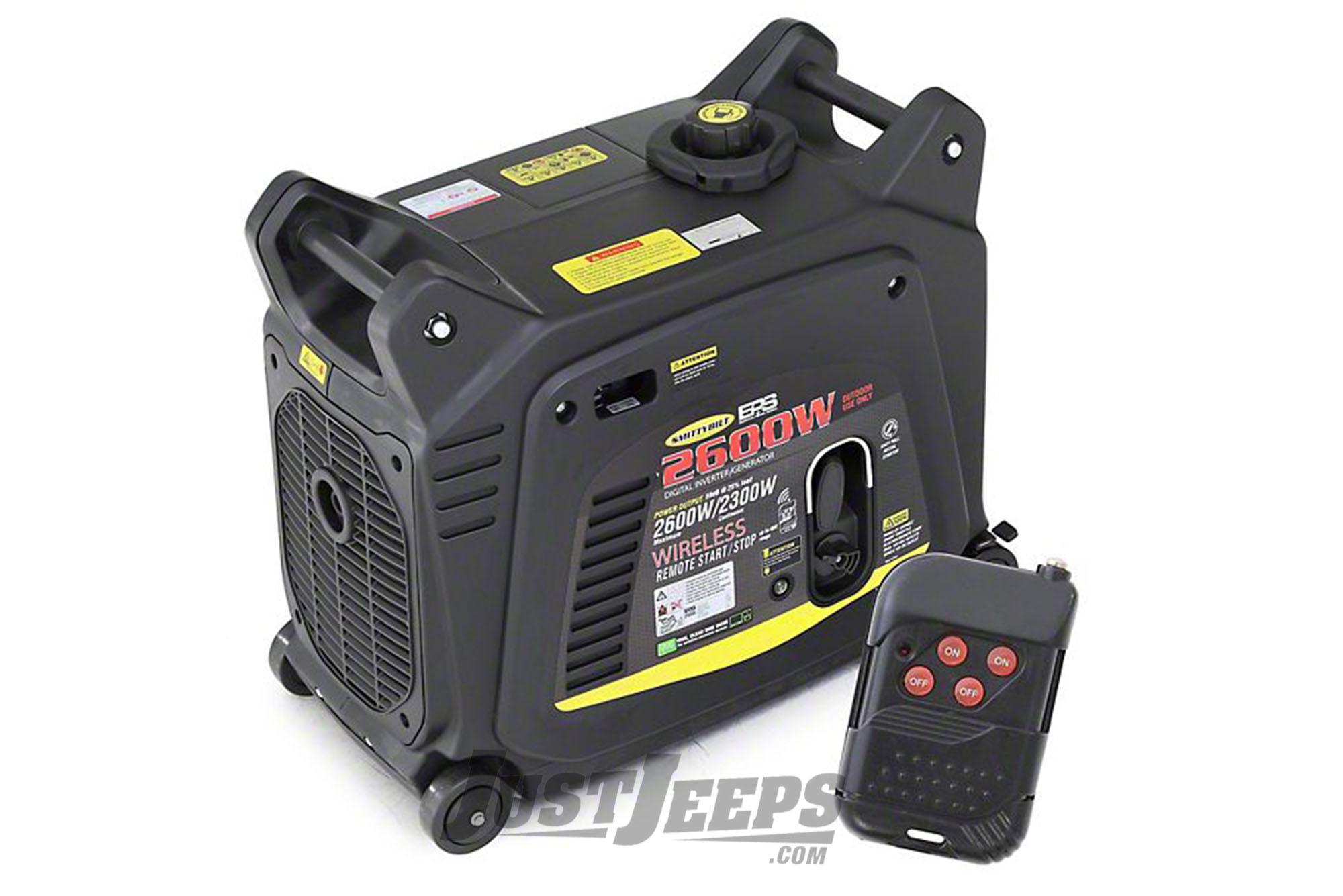 SmittyBilt Premium 2600W EPS Inverter/Generator
