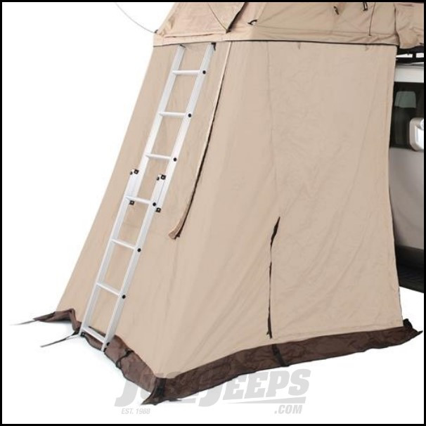 Just Jeeps Smittybilt Roof Top Tent Annex Jeep Wrangler