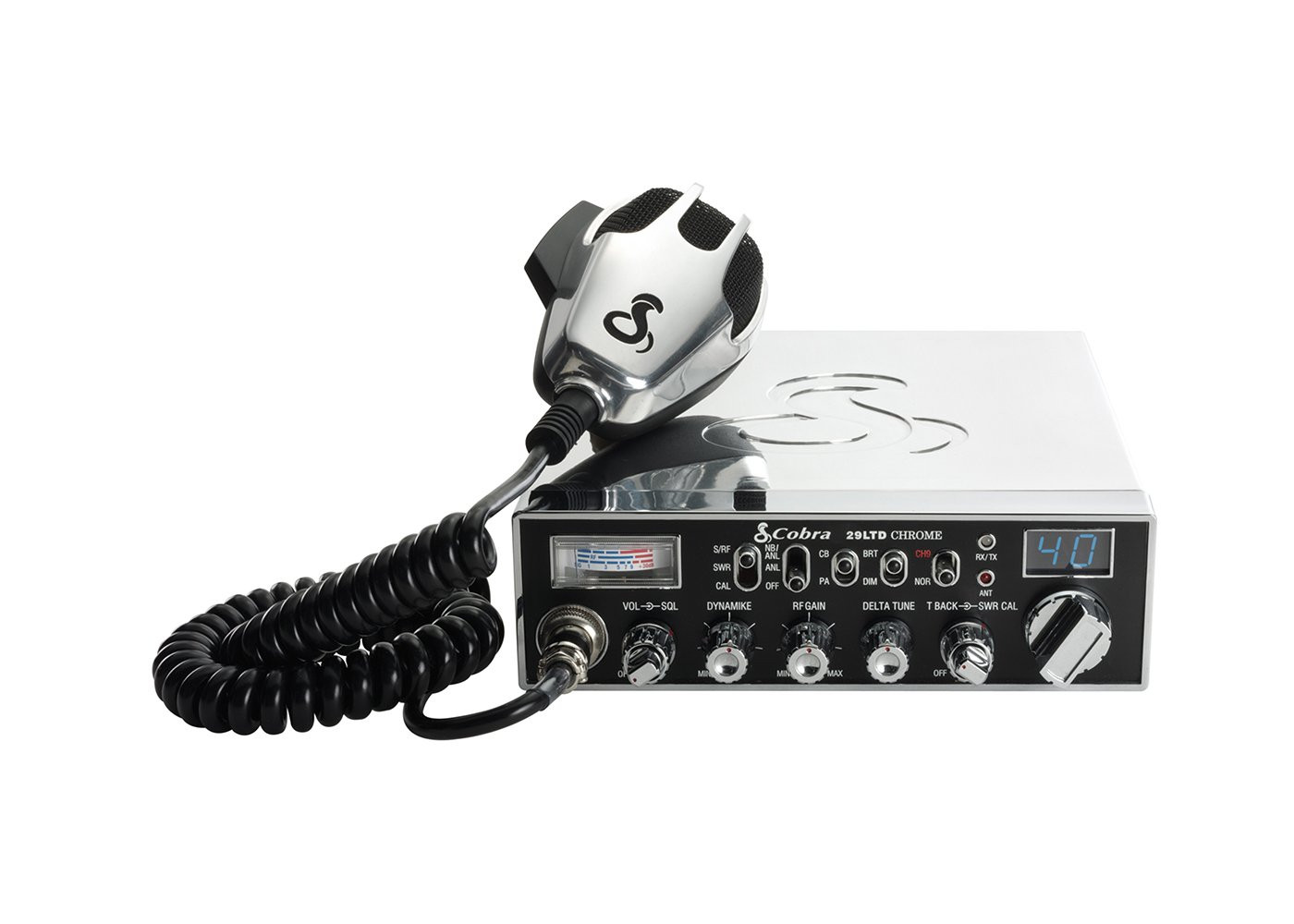 Cobra Electronics Chrome Special Edition Classic Professional CB Radio
