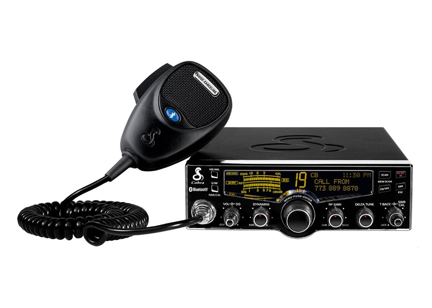 Cobra Electronics 29 LX BT Professional CB Radio With Bluetooth, Weather & Nightwatch 29LXBT