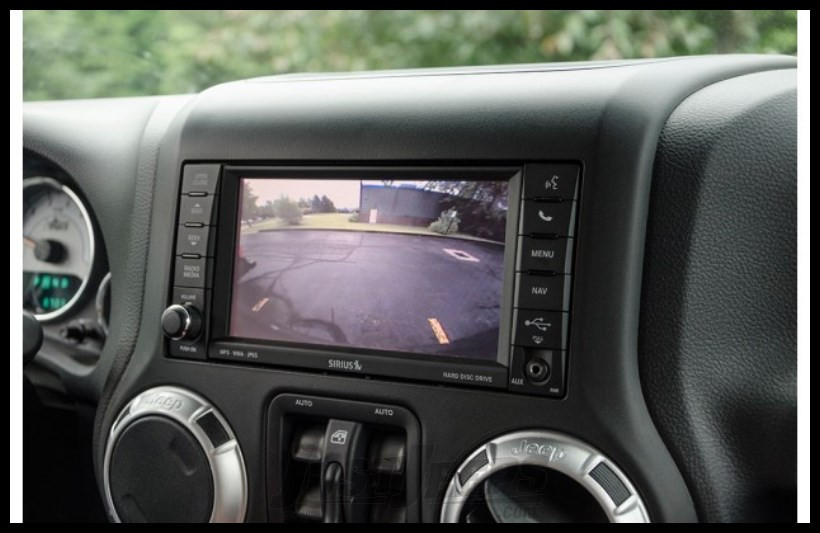 Just Jeeps Aev Rear Vision System For 2007 Jeep Wrangler