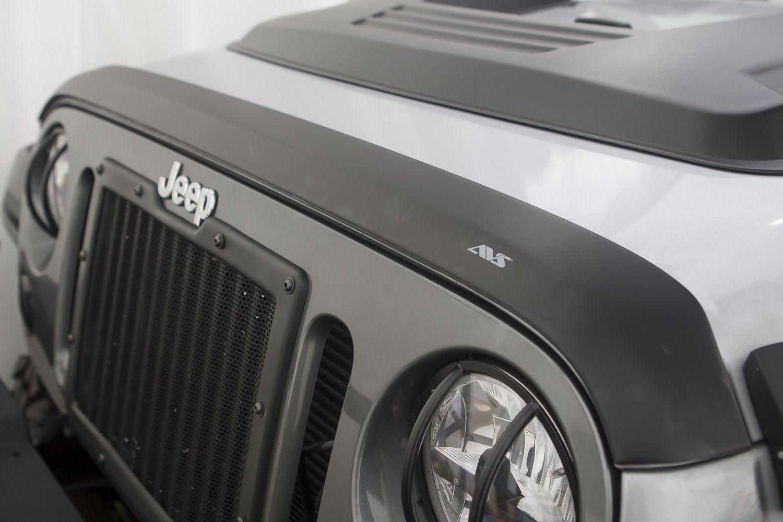 Just Jeeps Auto Ventshade Aeroskin Bug Deflector In Matte