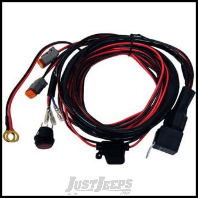 Just Jeeps Rigid Industries Wire Harness  Fuse