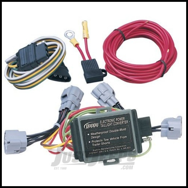 Hopkins Simple Plug-in Trailer Wiring Harness Kit For 1994-98 Jeep on suzuki wiring harness, jeep cj wiring harness, cherokee wiring harness, zj wiring harness, jeep wiring harness kit, jeep grand cherokee trailer wiring, jeep wj wiring harness, jeep 4 0 wiring harness, tundra wiring harness, jeep jk wiring harness, jeep door wiring harness, chrysler wiring harness, jeep wiring diagram, jeep cherokee starter wire harness, jeep willys wiring harness, d16y8 wiring harness, jeep xj horn wiring, jeep commander wiring harness, jeep grand wagoneer wiring harness,