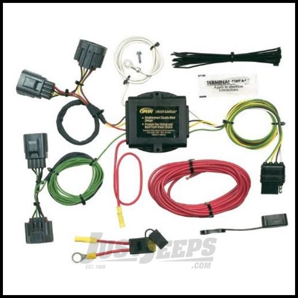 just jeeps hopkins simple plug in trailer wiring harness. Black Bedroom Furniture Sets. Home Design Ideas