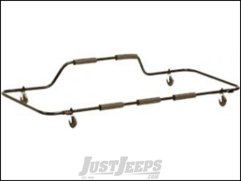 BESTOP HOSS Hardtop Cart In Black For 2007-18 Jeep Wrangler JK 2 Door & Unlimited 4 Door Models 42806-01