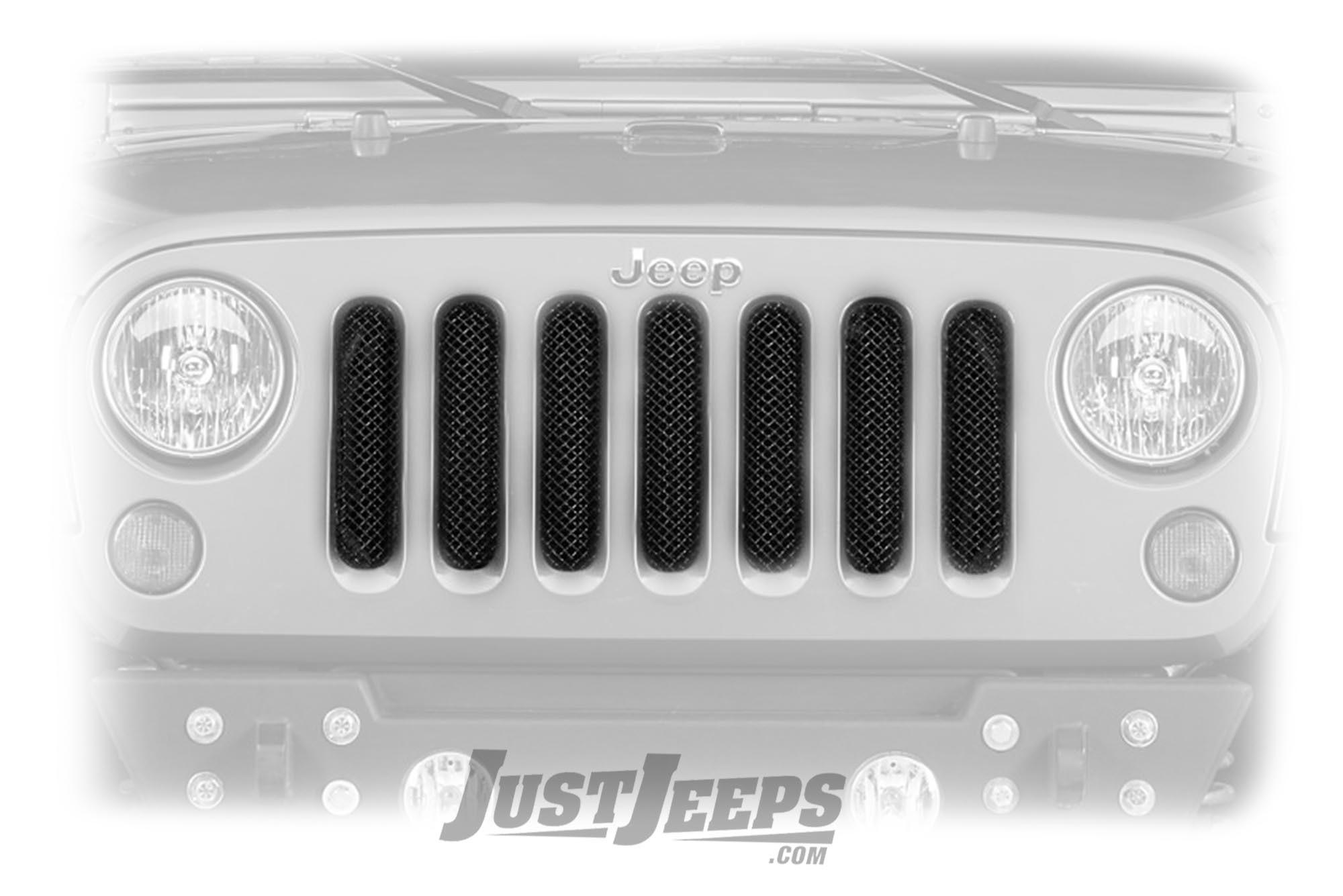 T-Rex Sport Series Stainless Steel Formed Mesh Grille For 2007-18 Jeep Wrangler JK 2 Door & Unlimited 4 Door Models