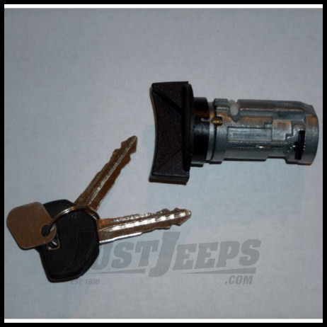 Omix-ADA Ignition Cylinder With Keys For 1991-95 Jeep Cherokee & Wrangler YJ
