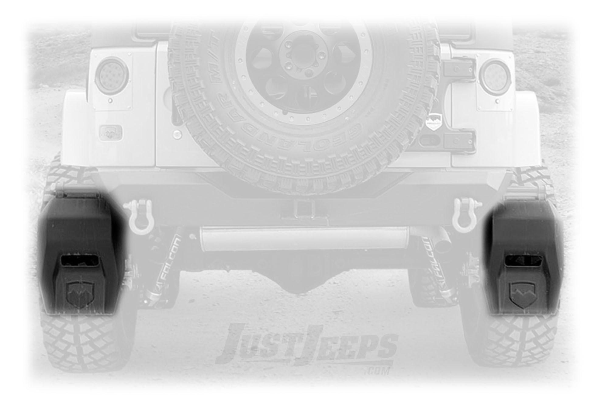 Just Jeeps Teraflex Transit Mud Flap Kit For 2007 18 Jeep