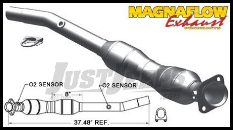 Magnaflow Direct Fit Catalytic Converter For 2011 Jeep Grand Cherokee With  3.6L (Driver Side)