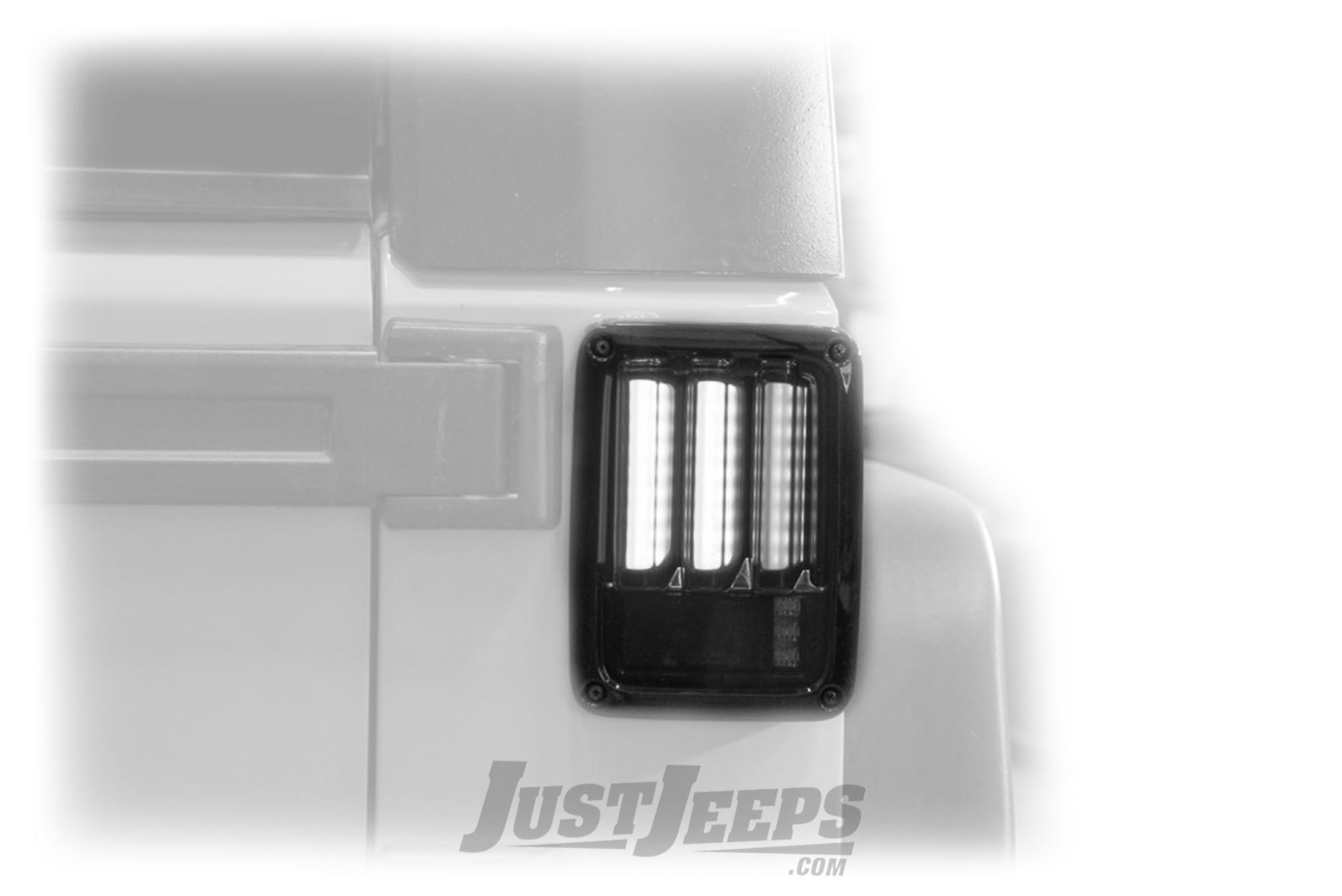 Spyder Automotive Sequential Fiber Optic LED Tail Lights For 2007-18 Jeep Wrangler JK 2 Door & Unlimited 4 Door Models