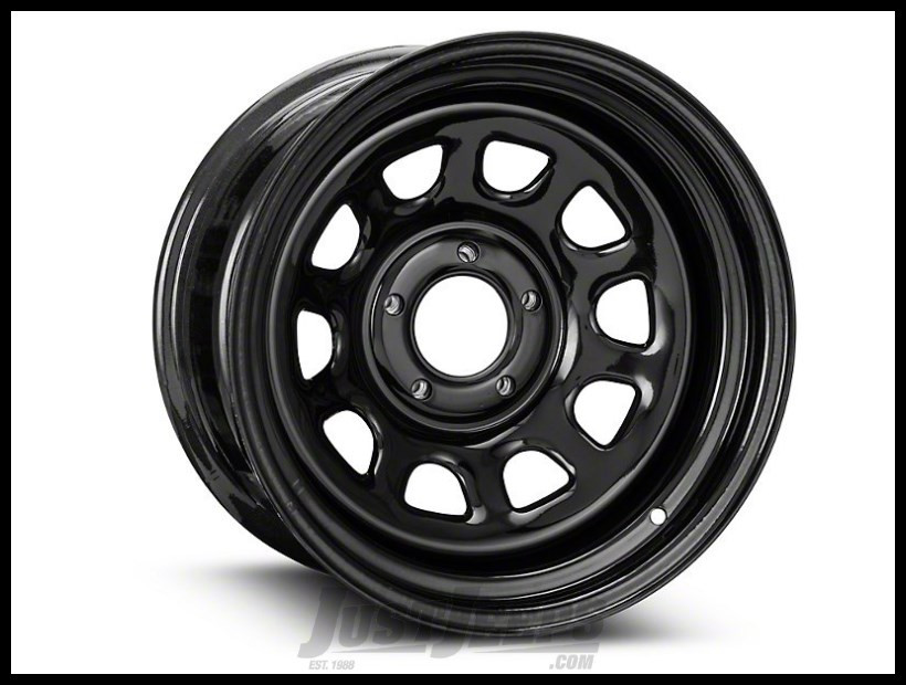 Pro Comp 51 Rock Crawler Series Wheel 15x10 With 5 On 4.50 Bolt Pattern & 3.75 Backspace In Flat Black